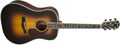 dan Guitar Fender PM-1 Deluxe Dreadnought, Vintage Sunburst