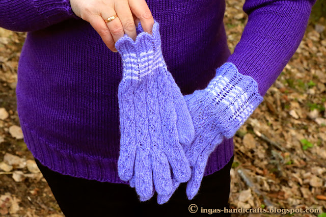 Pitsilised sõrmikud / Lace Gloves