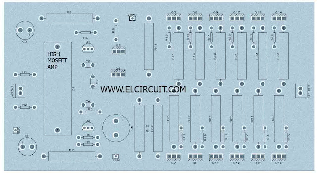 PCB High Power Amplifier
