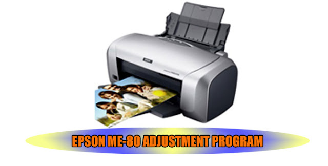 EPSON ME-80 PRINTER ADJUSTMENT PROGRAM