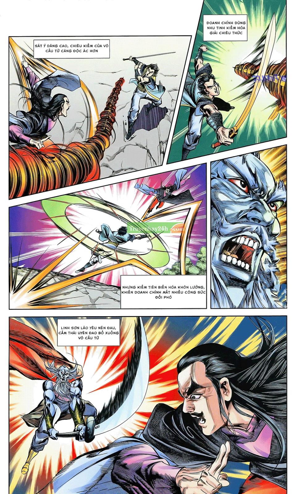 Tần Vương Doanh Chính chapter 21 trang 8