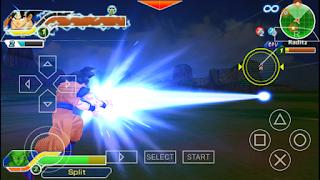 تحميل لعبة دراغون بول بي اس بي Dragon Ball psp النسخة الكاملة مهكرة والاصلية بحجم صغير 500 MB للأندرويد وللكمبيوتر ولجميع محاكيات PPSSPP برابط تحميل مباشر من ميديا فاير مجاناً بدون انترنت