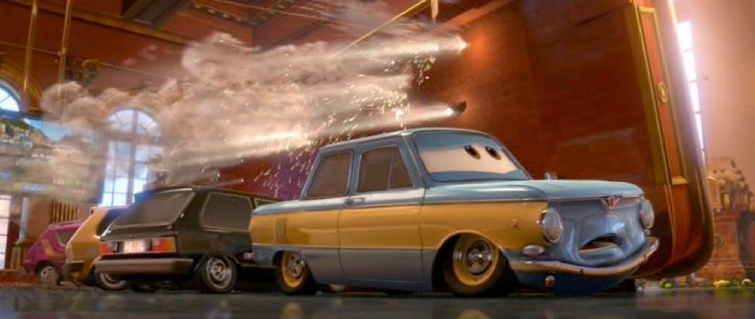 Dan The Pixar Fan Cars 2 Vladimir Trunkov