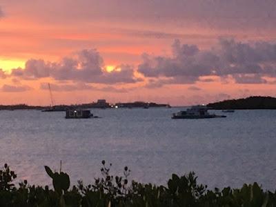 Sunset at Parrot Key Resort Key West Florida