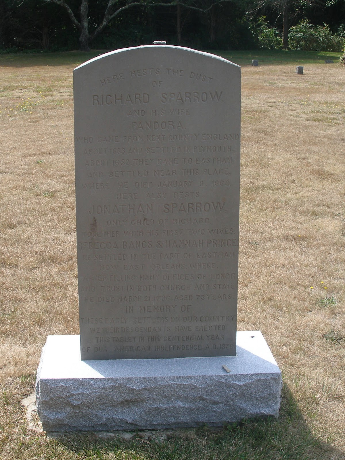 Massachusetts and More Genealogy Blog: Jonathan Sparrow ca ...