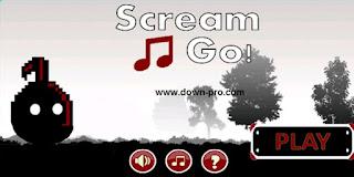 لعبه جديده غريبه تعتمد على صوتك ! حملها الأن للأندرويد والأيفون  Scream Go 2017
