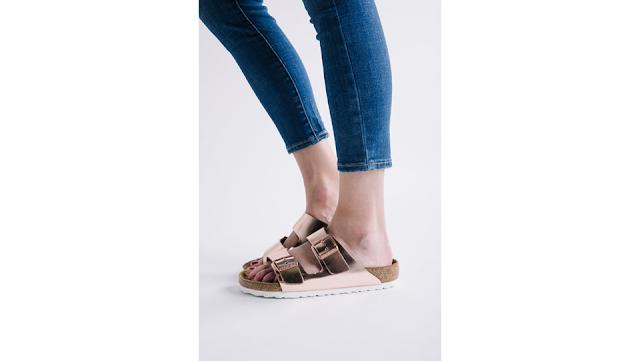 Looks com sandália slide e sandália birken - leiga fashion