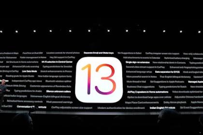 Apple rilis iOS 13 dengan fitur-fitur baru