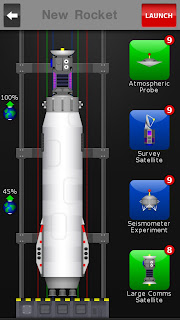 LP1, Meduim Tug, Large Comms Satellite in the vehicle assembly screen