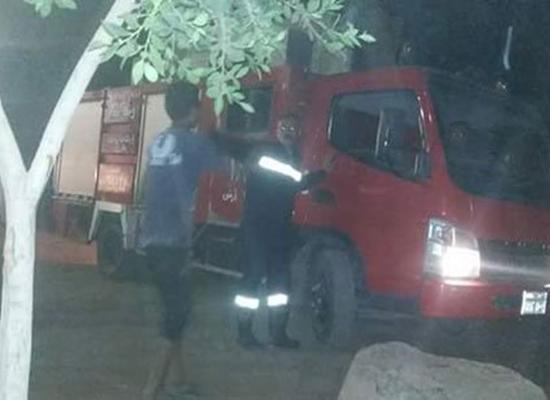 حريق هائل في مصنع حلويات شرقية بمدينة ميت غمر في الدقهلية