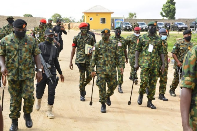 Defence HQ Finally Breaks Silence On Killing Looters, Dumping Four Bodies In A Pond