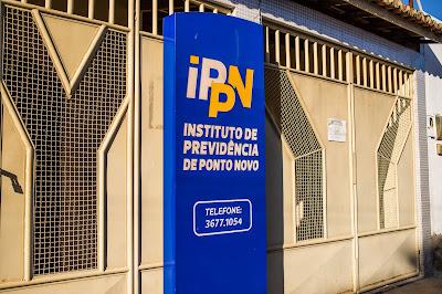 Foto de Romilson Almeida no Instituto de Previdência de Ponto Novo