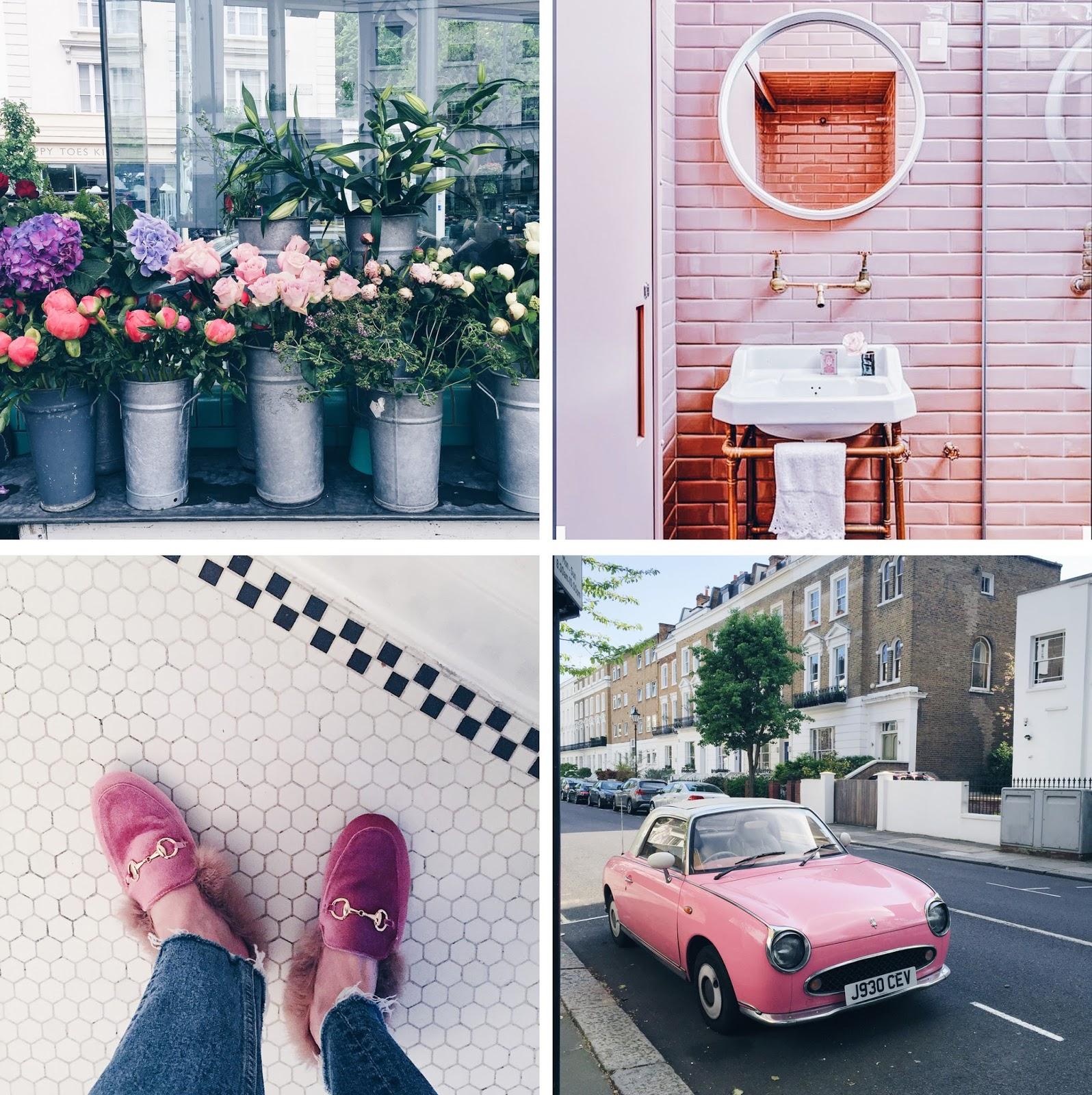 blush around london