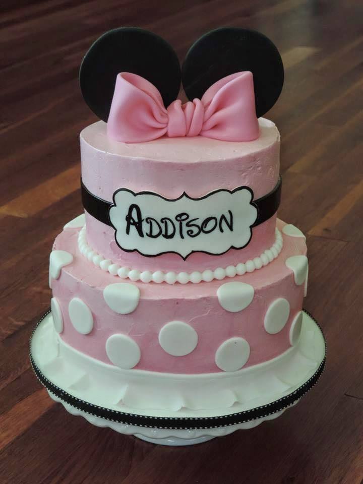 Cakes By Becky Buttercream Minnie Mouse Cake