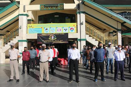 Ramadan Penuh Berkah, Resimen WSA Bagikan Paket Sembako ke PHL Setukpa Polri