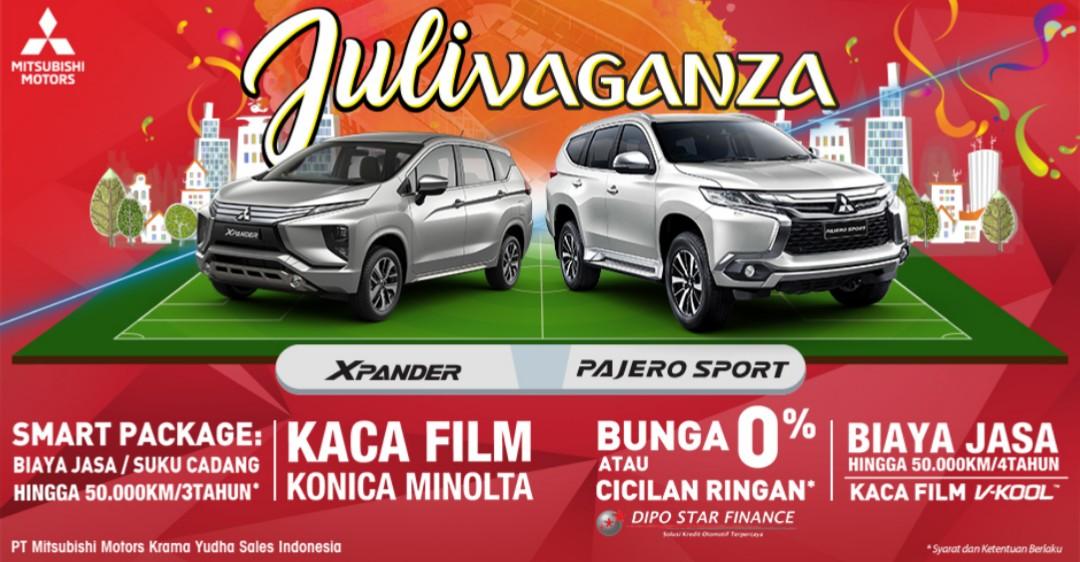Promo Juli Vaganza Mitsubishi Bintaro