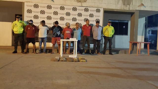Certero golpe al tráfico de estupefacientes en Maicao, propinó la Policía Nacional