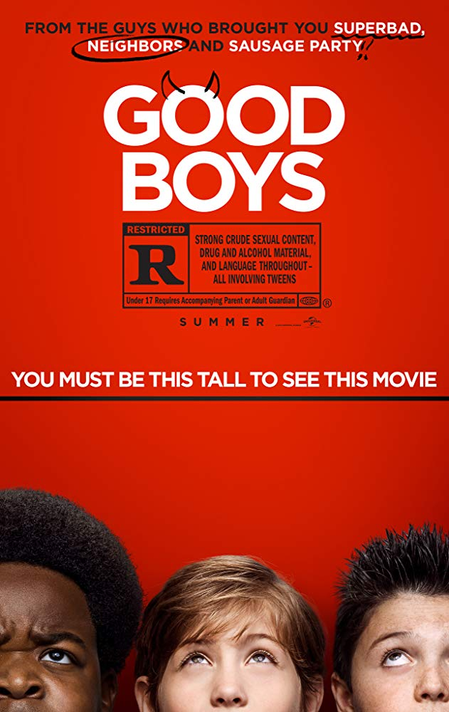 "Movie Review: ""Good Boys"" (2019)"