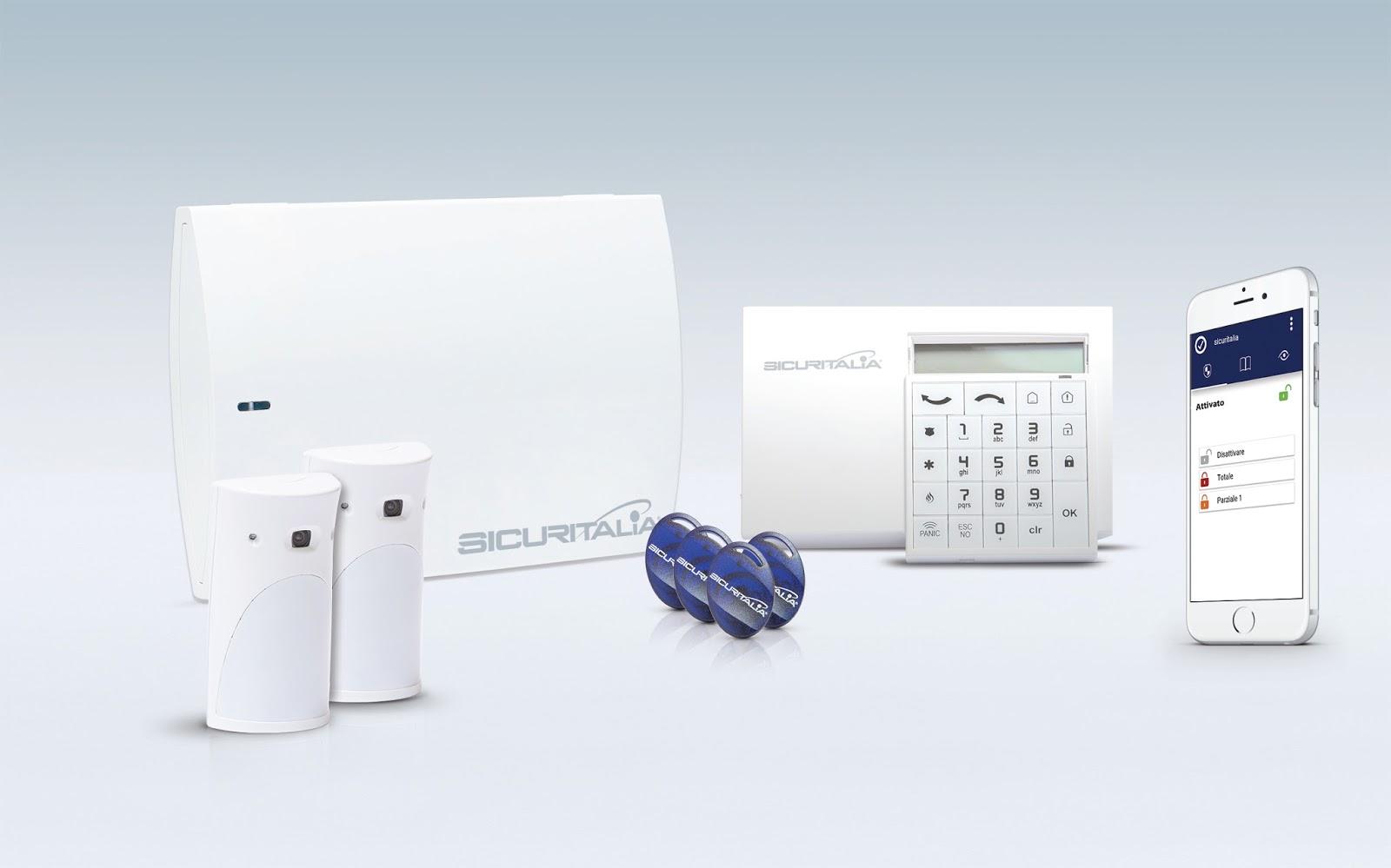 Sicuritalia Protezione24: antifurto con tecnologia wireless e videocamere per casa e ufficio ...