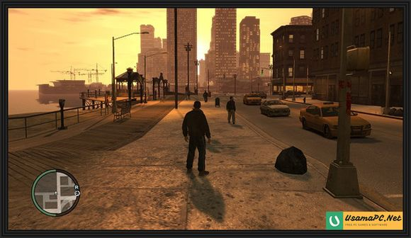 GTA 4 Gameplay Screenshot