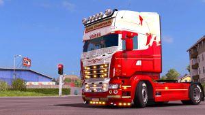 Scania Transports skin for Scania RJL