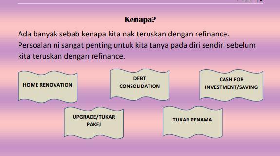 Kenapa Nak Refinance Rumah?