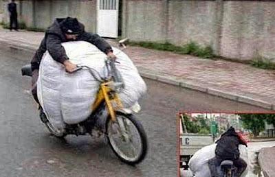 Spass Fotos - dumme Menschen im Straßenverkehr lustig