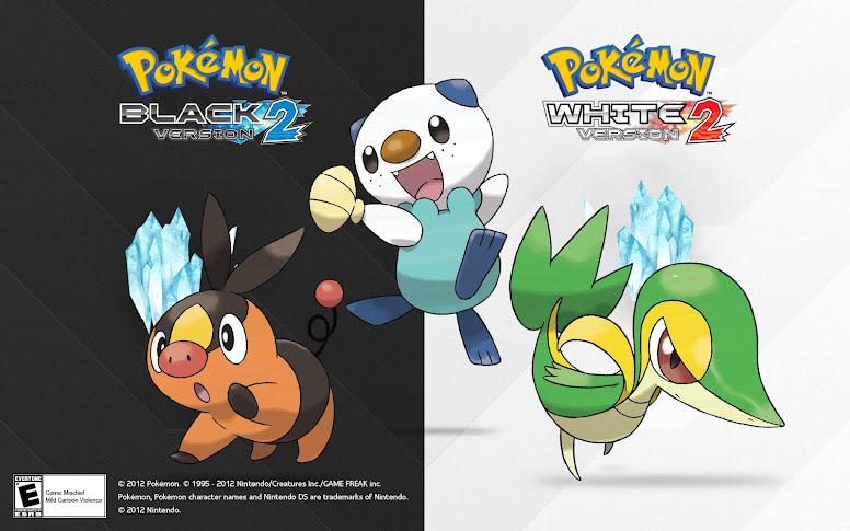 Pokémon Black 2 White 2 Iniciais