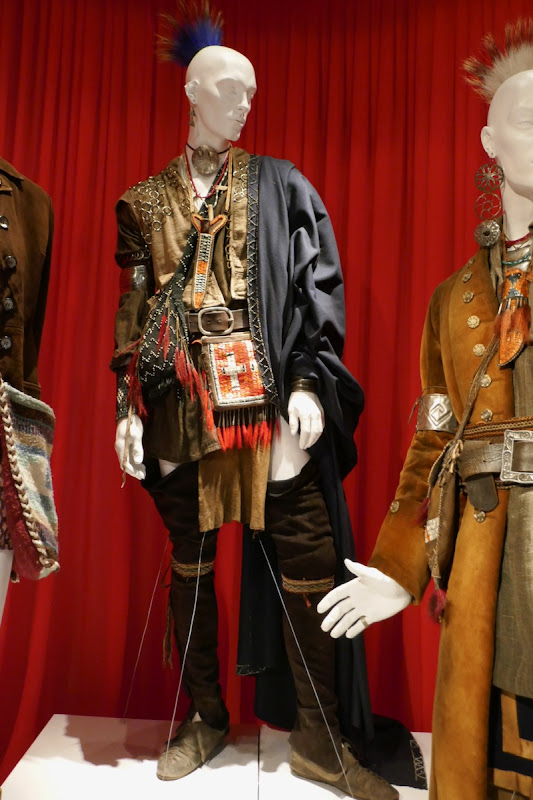 Outlander season 4 Mohawk composite costume