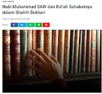 Nabi Muhammad SAW dan Bidah Sahabatnya dalam Shahih Bukhari - Kajian Sunnah Tarakan