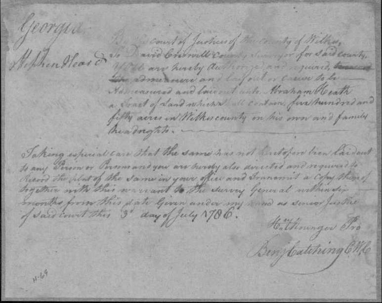 Ancestry Island: Working on Wednesday: Abraham Heath