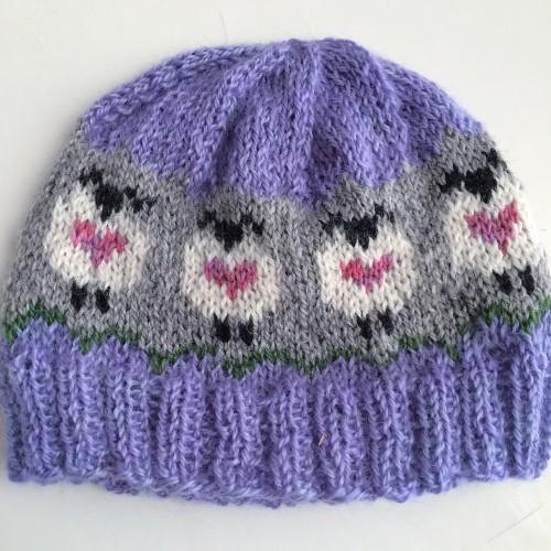 Sheep Love Hat - Free Pattern