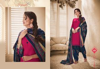 Suryajyoti Lahori Patiala vol 2 Pashmina Winter Woolen Suits