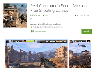 Real commando- best played games of 2019