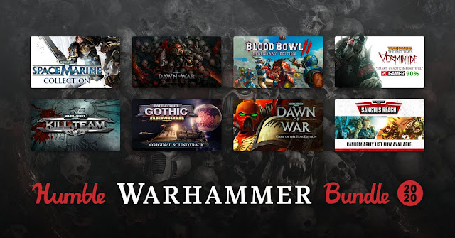 Humble Warhammer Bundle 2020 - 13美金11款遊戲