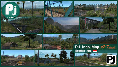 Map PJ Indo v2.7 Beta - ETS2 1.38