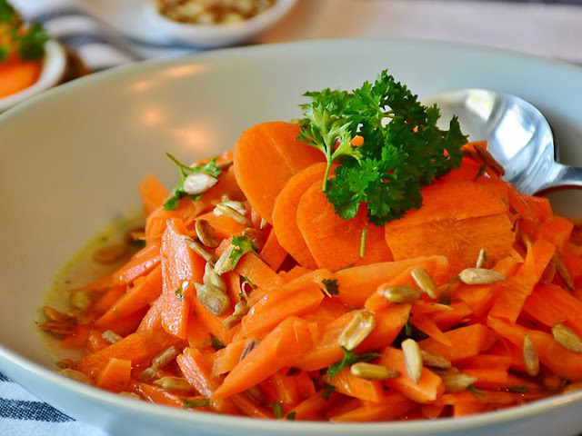 Creamy Carrot Slaw or Carrot Salad
