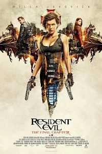 Resident Evil The Final Chapter (2016) Hindi Dual Audio 300mb DVDCam