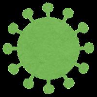 コロナウイルスの変異株のイラスト3