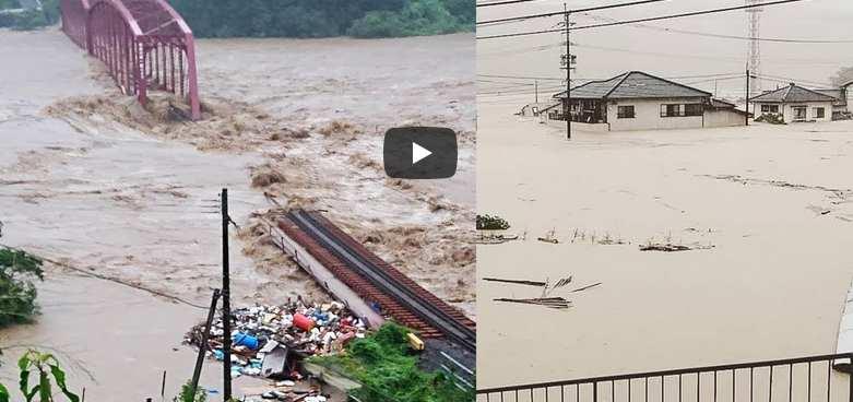 Ιαπωνία: Δεκάδες νεκροί και αγνοούμενοι από τις σαρωτικές βροχοπτώσεις