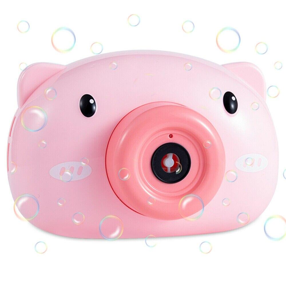 Cartoon Pig Camera Bubble Blower Buy on Amazon and Aliexpress