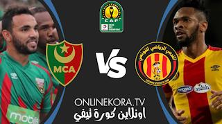 مشاهدة مباراة الترجي الرياضي ومولودية الجزائر بث مباشر اليوم 10-04-2021 في دوري أبطال إفريقيا