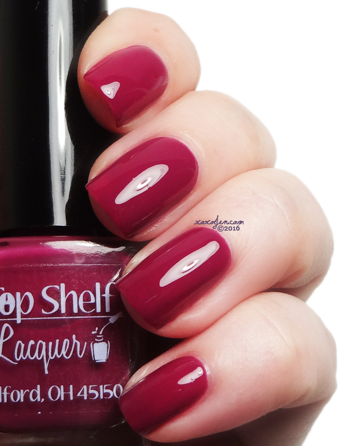 xoxoJen's swatch of Top Shelf Lady In Red Cocktail
