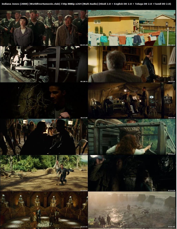 Screen Shoots of Indiana Jones and the Kingdom of the Crystal Skull 2008 Hindi English BRRip 1080p Dual Audio