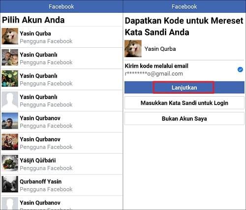 Cara Mengatasi Lupa Kata Sandi Facebook