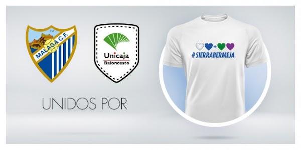 La camiseta solidaria por Sierra Bermeja, a la venta a partir de este lunes