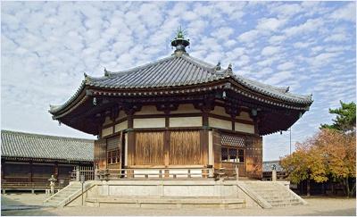 หอนิรมิตวัดโฮริวจิ (Horyuji Temple)