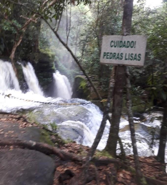 INCIDENTE FATAL - Bombeiros encontram corpo de mulher que caiu após tentar 'selfie' em Cachoeira