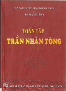 Toàn Tập Trần Nhân Tông - Lê Mạnh Thát