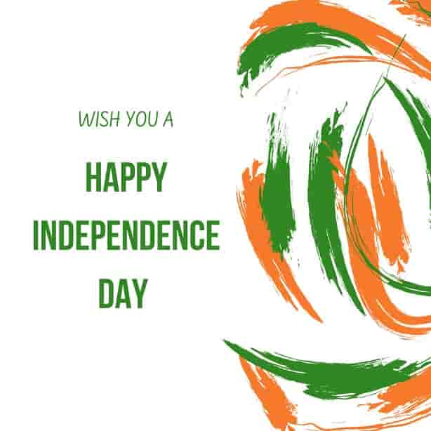 wish you a happy independence day
